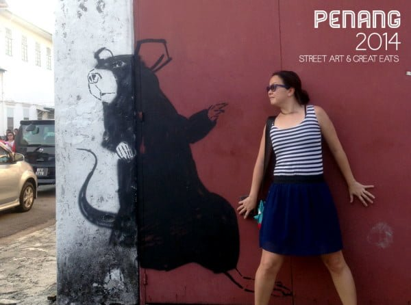 Where to find street art in George Town Penang