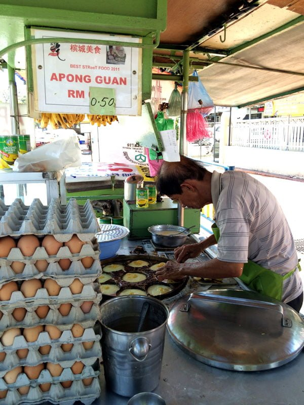 Penang Food - Apong