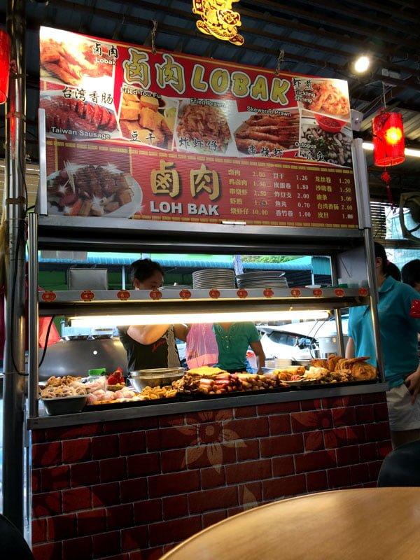 Penang Food - Lor Bak Stall