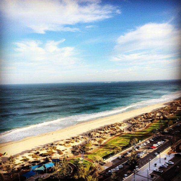 Perth Margaret River Scarborough Beach Top View