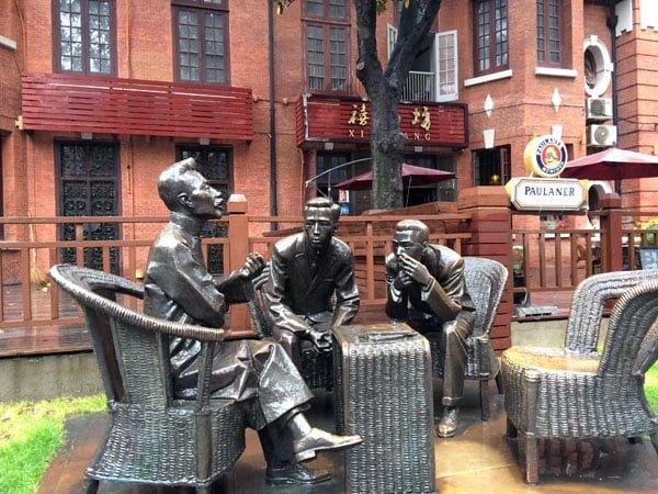 Shanghai Duolun Statues