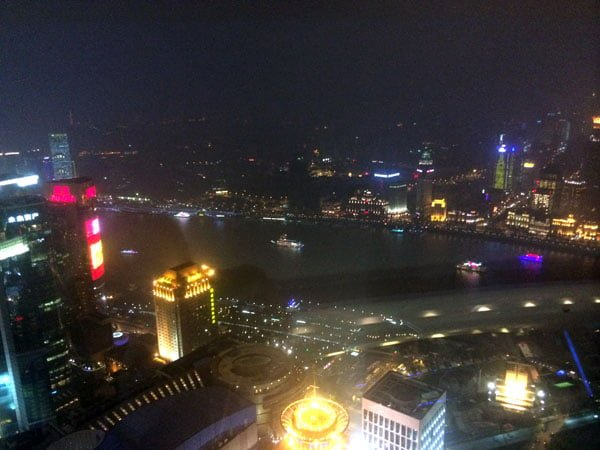 Shanghai Spring - Pearl Tower Upper Ball View