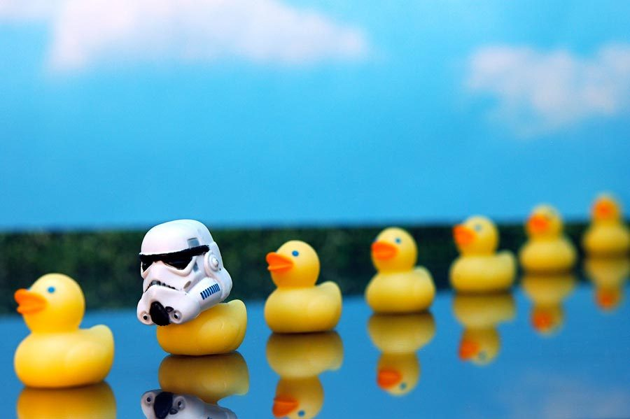 Solo Travel Stormtrooper Ducks JD Hancock