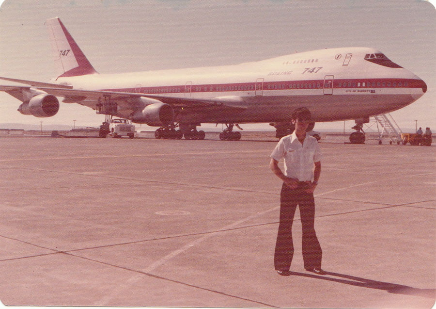 My Dad the Pilot - Vintage photo
