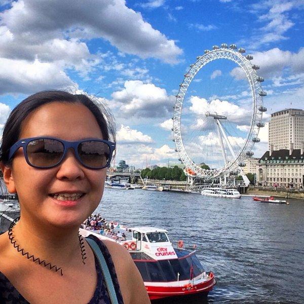 London Work Trip - Thames London Eye