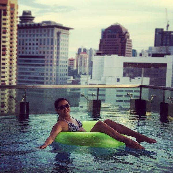 Quincy Hotel - Pool Float