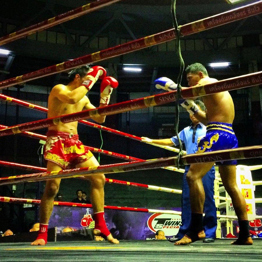 Bangkok - Rajadamnern Stadium Muay Thai Fight