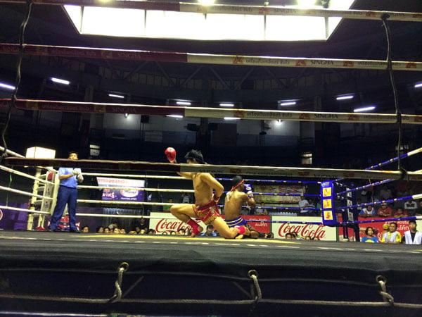 Bangkok - Rajadamnern Stadium Pre Fight