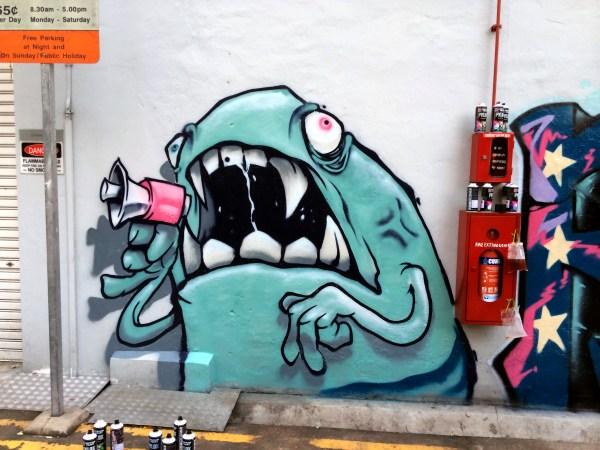 Singapore Street Art -Antz