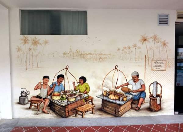 Singapore Street Art Hotel Nuve YipYC Satay Club