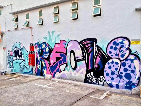 Singapore Street Art - RSCLS