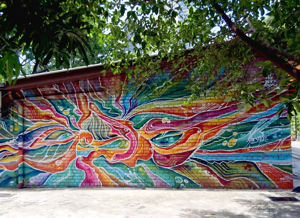 Singapore Street Art Sultan Arts Village Slacsatu Batik