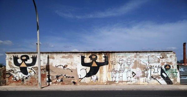 Portugal - Lagos Street Art Bokel-Perreira-Arriano