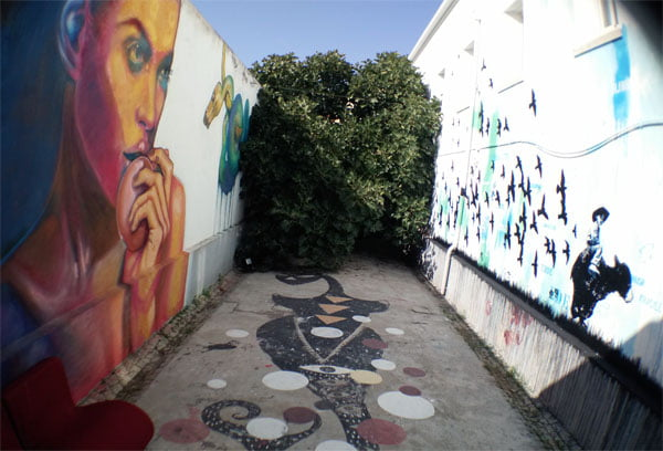Portugal - Lagos Street Art LAC backyard