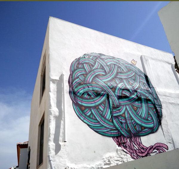 Portugal - Lagos Street Art Mar