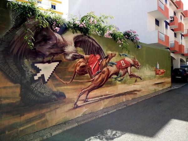 Portugal - Lagos Street Art Onur-Wes21