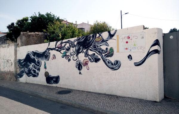 Portugal - Lagos Street Art Pantonio