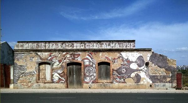Portugal - Lagos Street Art Paulo Arriano