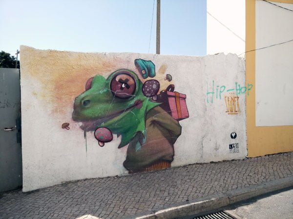Portugal - Lagos Street Art Sainer