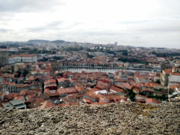 Portugal - Porto Clerigos Torre View near