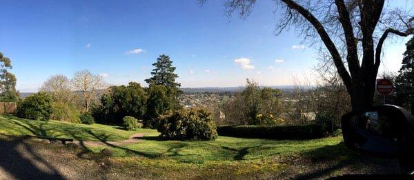Daylesford Wombat Hill Panorama