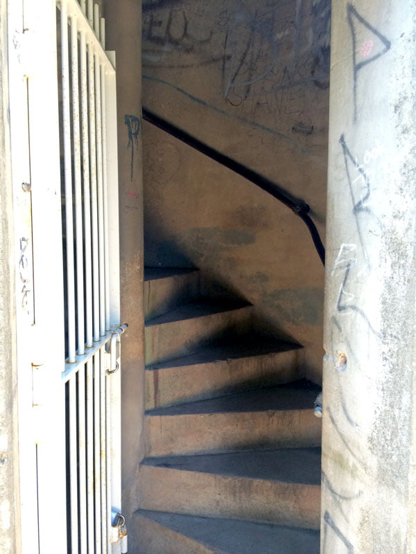 Daylesford Wombat Hill Tower Stairs