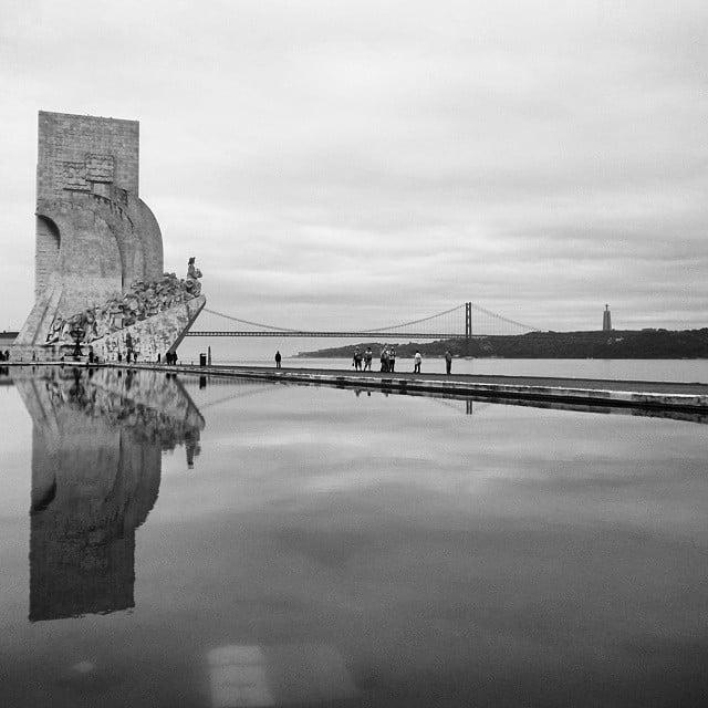Portugal - Lisbon Belem Monument BnW