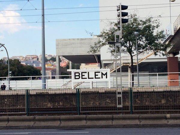Portugal - Lisbon Belem Sign