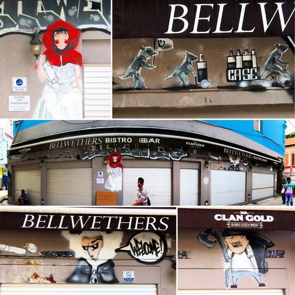 Singapore Street Art - Bellwethers Fairytale