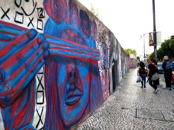 Portugal - Lisbon Street Art Amoeiras Blindfold