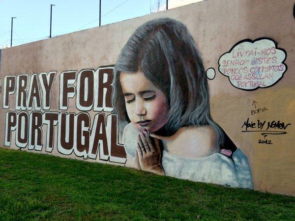 Portugal - Lisbon Street Art Amoeiras Nomen