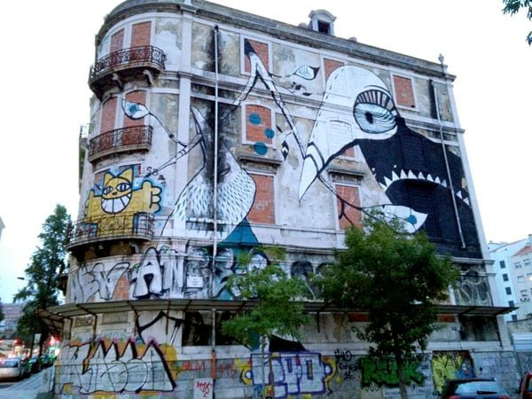 Portugal - Lisbon Street Art Crono Project Lucy Mclauchlan