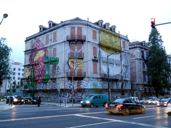 Portugal - Lisbon Street Art Crono Project Os Gemeos Blu