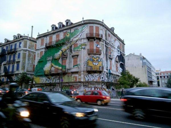 Portugal - Lisbon Street Art Crono Project