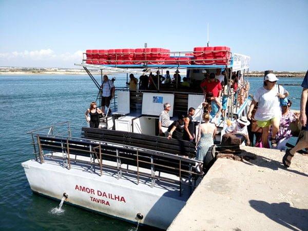 Portugal - Tavira Island Ferry