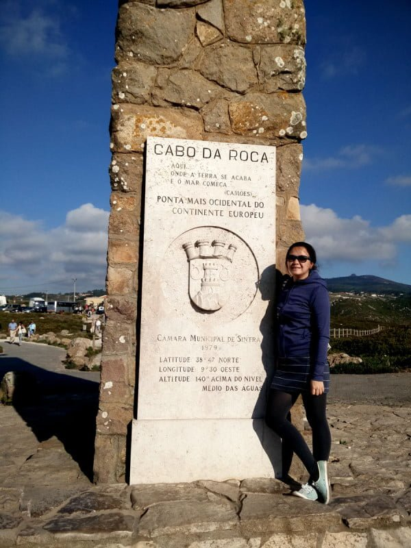 Portugal - Cabo da Roca Plaque