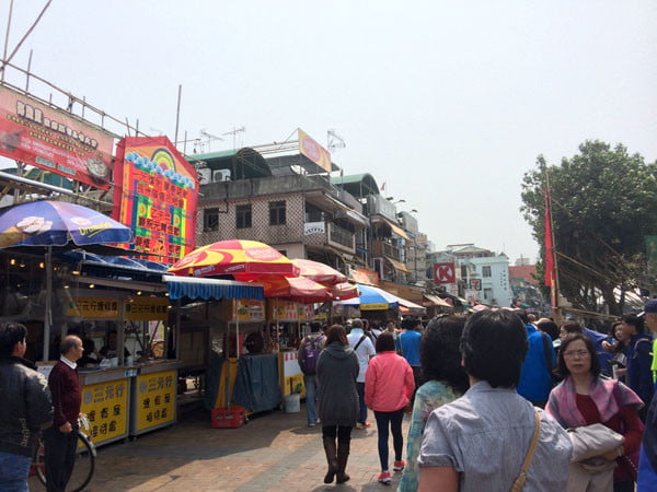 Hong Kong Cheung Chau - Main Street