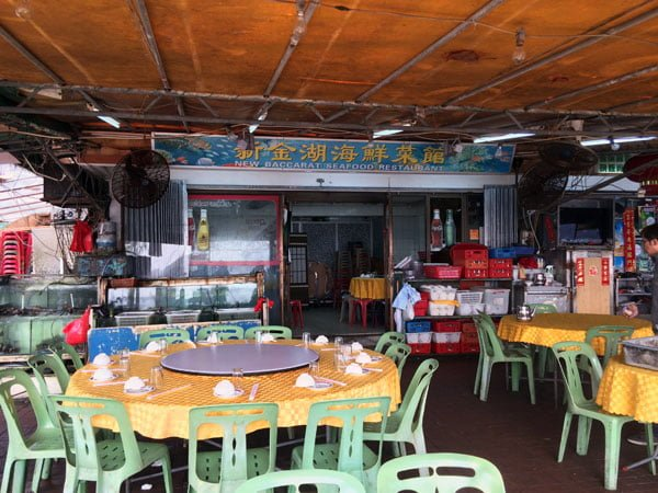 Hong Kong Cheung Chau - New Baccarat Tables