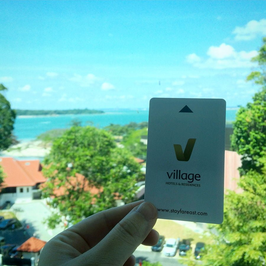 Village Hotel Changi - Keycard View