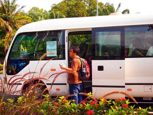 Dawson-Alexandra Trail - Bus