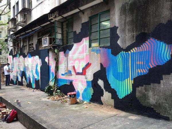 Hong Kong Street Art - DEMS
