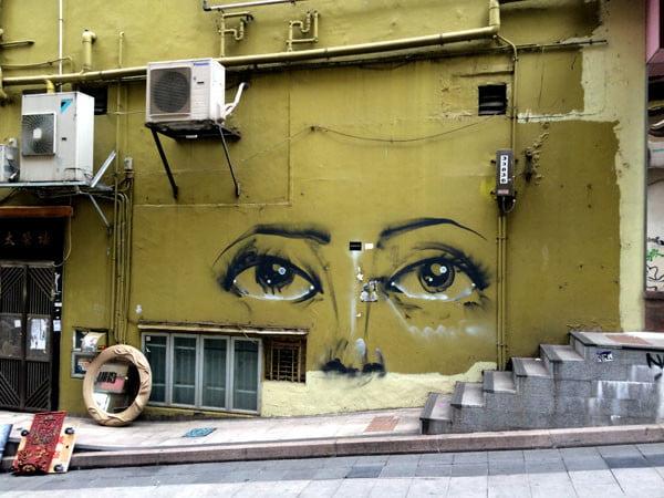 Hong Kong Street Art - Eyes