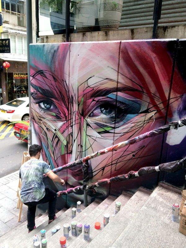 Hong Kong Street Art - Hopare