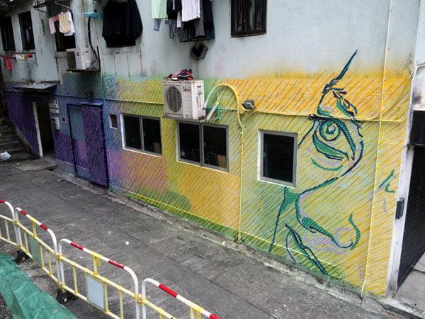 Hong Kong Street Art - Idrawalot