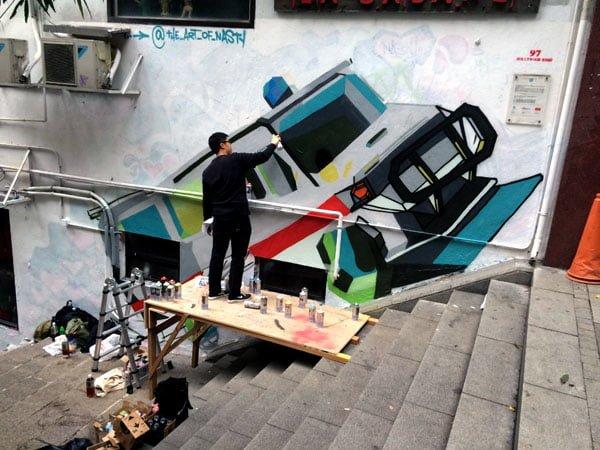 Hong Kong Street Art - Parents Parents