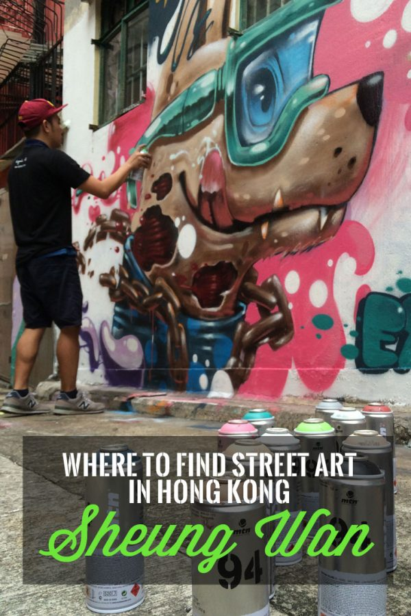 Pin it: Where to find street art in Hong Kong Central + Sheung Wan area