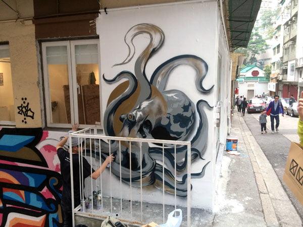 Hong Kong Street Art - Rookie