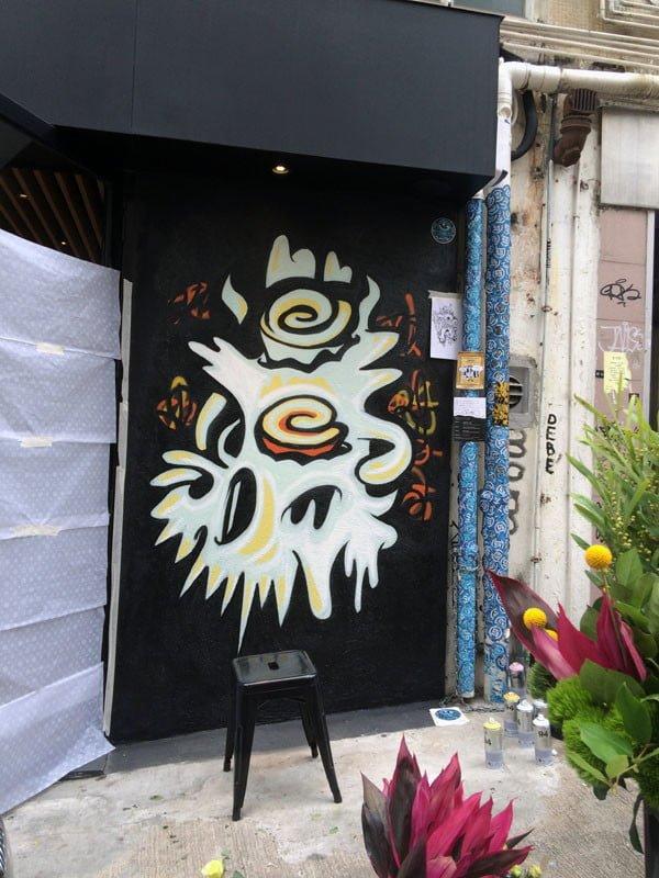 Hong Kong Street Art - Tai Ping Shan Street