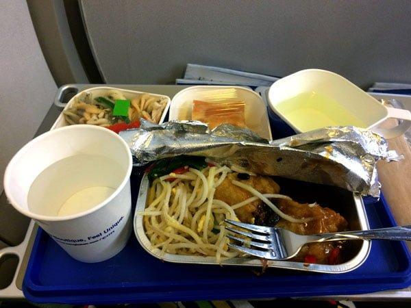Koh Samui - Bangkok Airways Food
