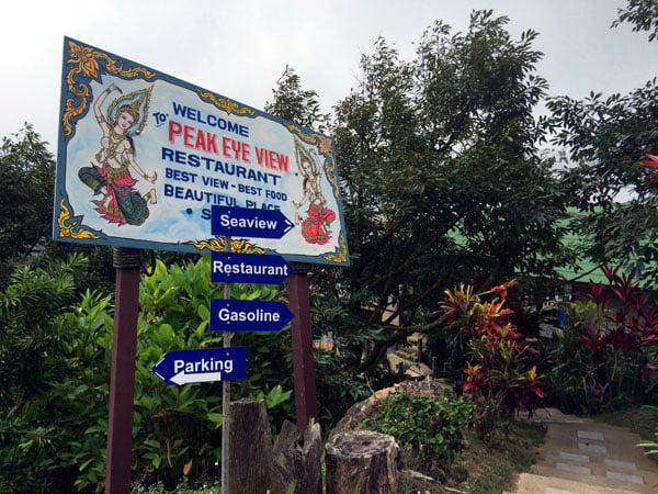 Koh Samui - RNavigator Peak Eye View Restaurant